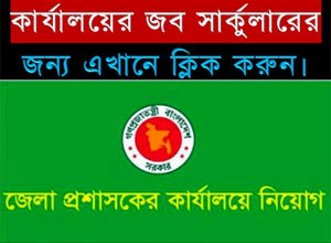 District Commissioner Office Job Circular 2018