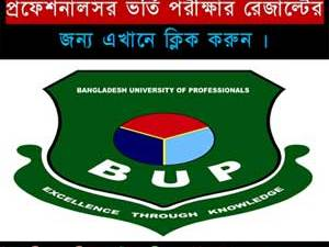 BUP Admission Notice 2018-19