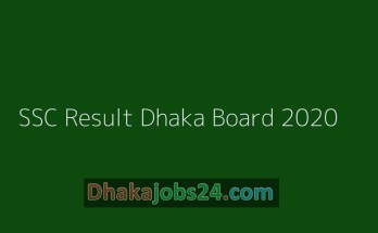 Full SSC Result Dhaka Board 2020