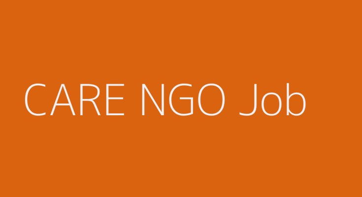 CARE Bangladesh NGO Job 2019