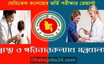 Medical Admission Result 2019-20
