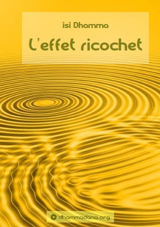 """couverture du livre """"L'effet ricochet"""""""