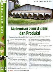 Modernisasi Demi Efisiensi dan Produksi - Page 1