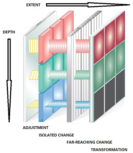 Figure 1: Typology of Change as a basis for matrix management