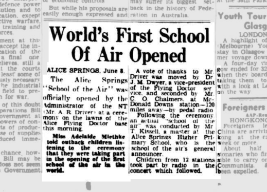 Worlds First School of Air Opened