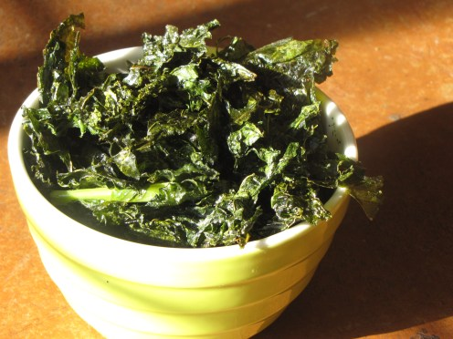 Serve up the kale chips immediately or after some cooling time, and get ready to make some more!
