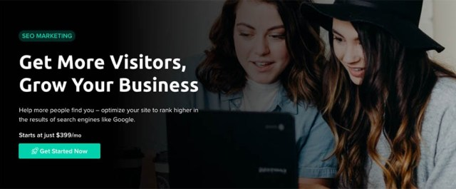 """SEO Marketing at DreamHost. """"Get More Visitors, Grow Your Business"""""""