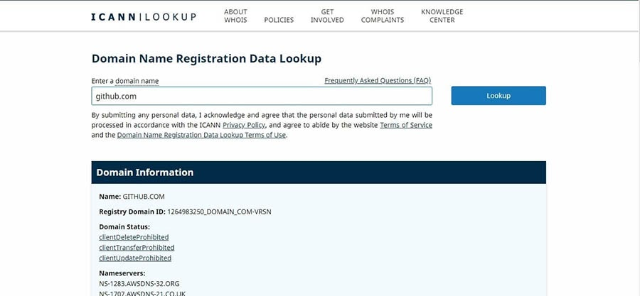 """The official ICANN lookup tool."""