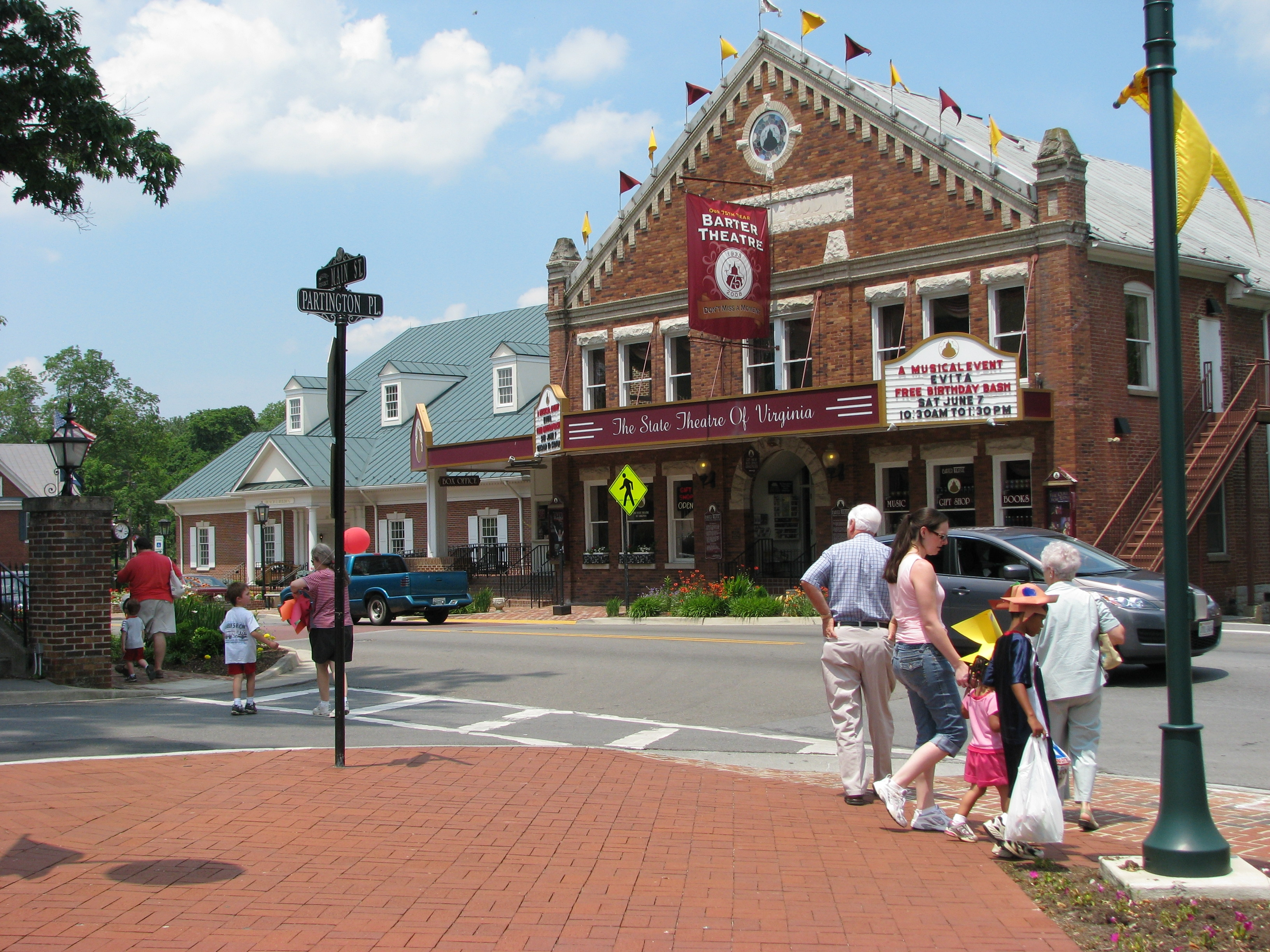 The Barter Theater is one of Abingdon's key cultural and historic assets.