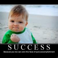 April, a month of failure, a month of success