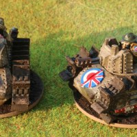 Warzone Resurrection: Imperial Greyhound tankettes