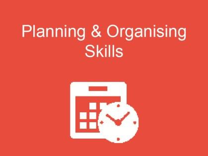 Planning-Organising-Skills