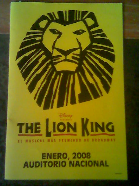 The Lion King, el musical de Broadway (1/4)