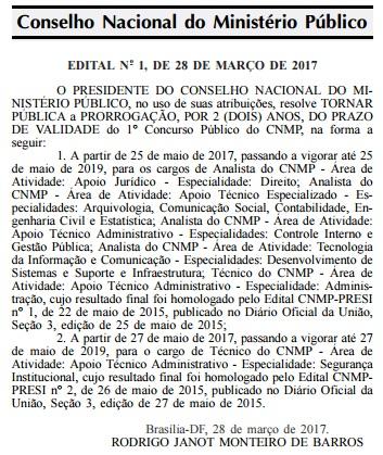concurso CNMP