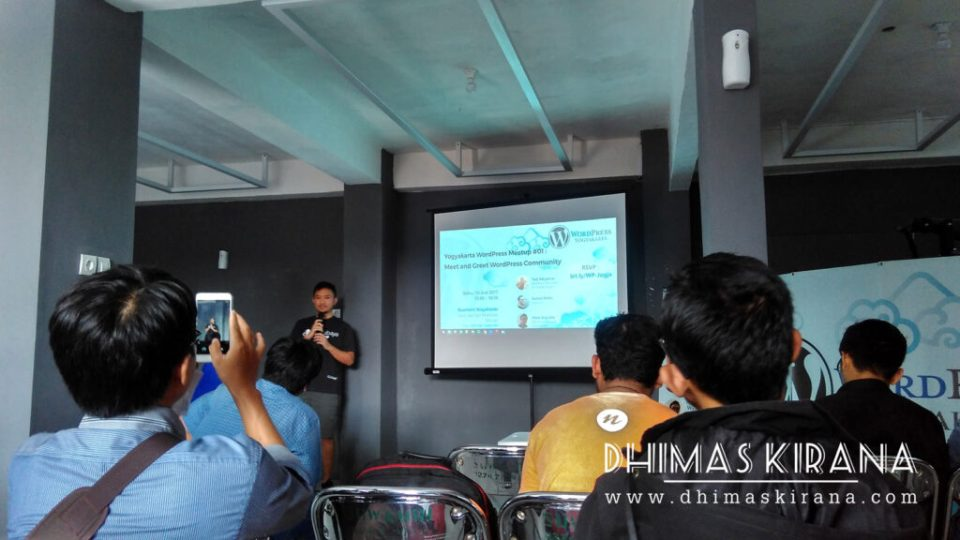 WordPress Meetup Yogyakarta #1 di Basement Niagahoster