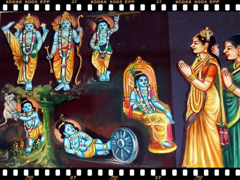 திருப்பாவை- பாசுரம் 24 (அன்று இவ் வுலகம் அளந்தாய்)