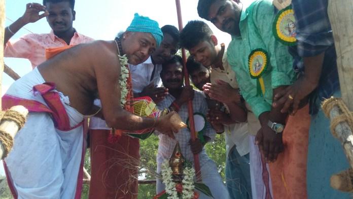 அறந்தாங்கி அருகே ஆயிங்குடியில் விஸ்வநாதசுவாமி கோயில் கும்பாபிஷேகம்