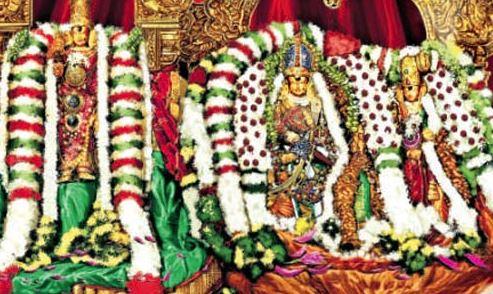 சித்திரை திருவிழா-வில் மீனாட்சி அம்மனுக்கு இன்று  திருக்கல்யாணம்