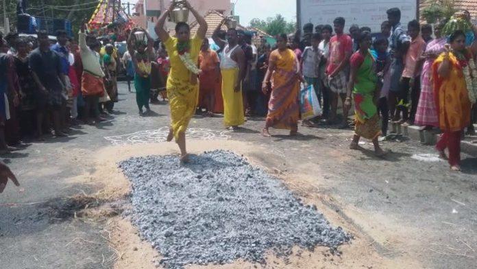 புதுக்கோட்டை அருகே அறந்தாங்கியில் பச்சைகாளி கோயில் திருவிழா