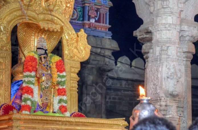 திருவரங்கம் நம்பெருமாள் கற்பக விருட்ச வாகன புறப்பாடு காணொளி