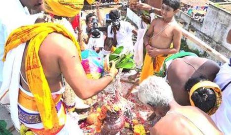 விருத்தாசலம் ஏகநாயகர் கோயிலில் இன்று மகா கும்பாபிஷேகம்