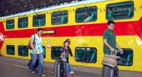 15 June7 Train கோவை-பெங்களூரு இடையே இன்று முதல் டபுள் டக்கர் ரயில் இயக்கம்