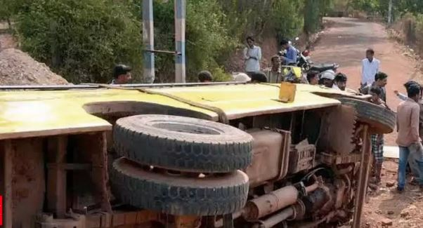 Bus Mishap: one killed, over 10 injured