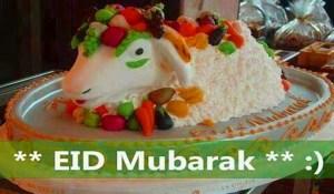Bakra Eid Cake Wallpaper