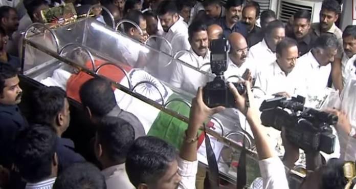 karunanidhi funeral 1 - 2