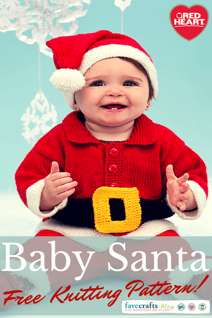 Knit A Baby Santa Suit 12 Days Of Christmas Giveaway