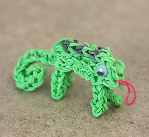 Rubber Band Loom Animal Patterns