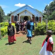 Kipsomoi Church near Kisii Highlands