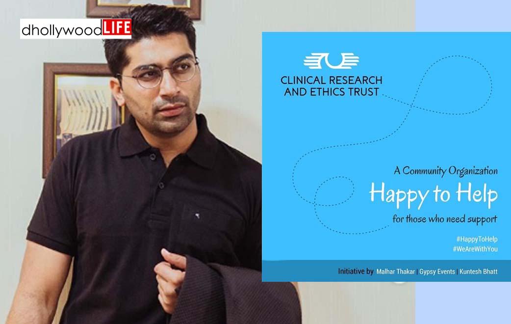 An initiative by Malhar Thakar for the needy once