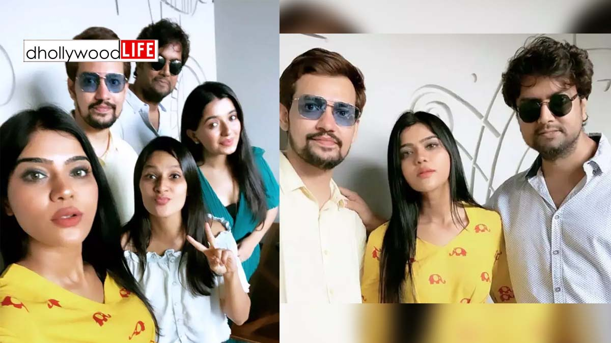 Something interesting is soon coming from Gujarati stars Khushi Shah, Aanchal Shah, Chetan Dhanani and Dhimir Pipavat!!
