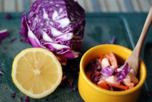 slaw with lemon and cabbage 6