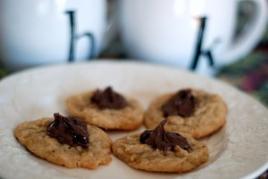 cookies on plate 1