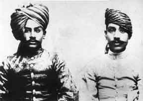 Ustads Nasiruddin Khan and Ziauddin Khan Dagar