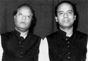 Elder Dagar Brothers Nasir Moinuddin and Nasir Aminuddin Dagar