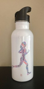 Richmond Running Woman Water Bottle