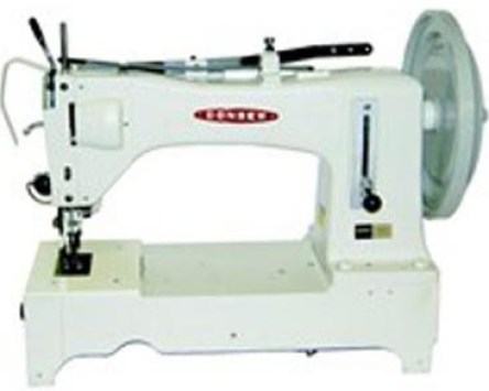 Extra Heavy Duty, Long Arm, Single Needle, Drop Feed, Alternating, Presser Feet, Lockstitch Machine.
