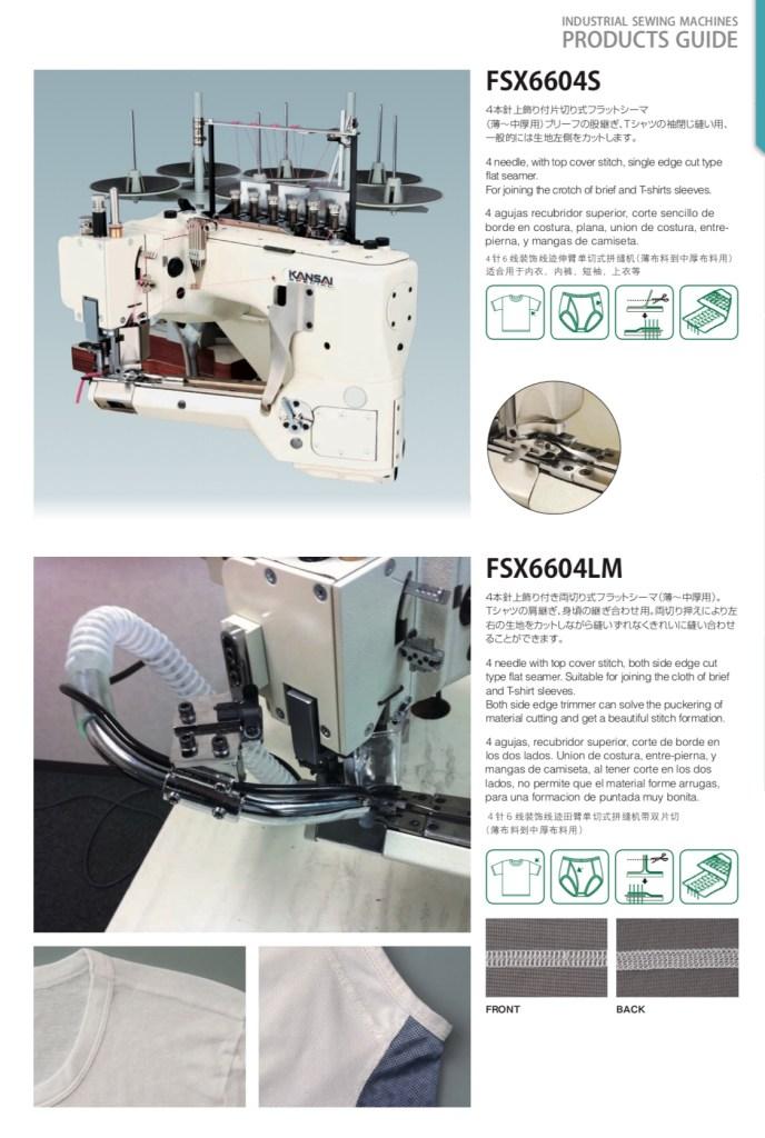 Kansai Special FSX6604LM Flat Seamer