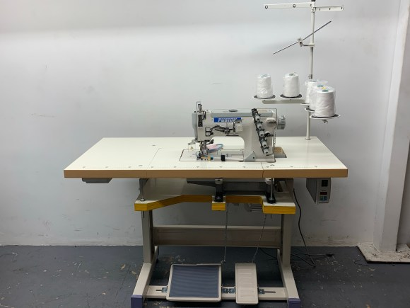 Fusion W562-2-364 3 Needle Flat bed Coverstitch Machine for Binding