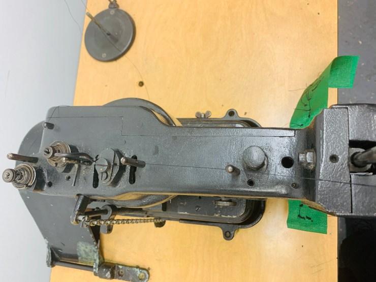 Singer model 175-61 industrial tacker