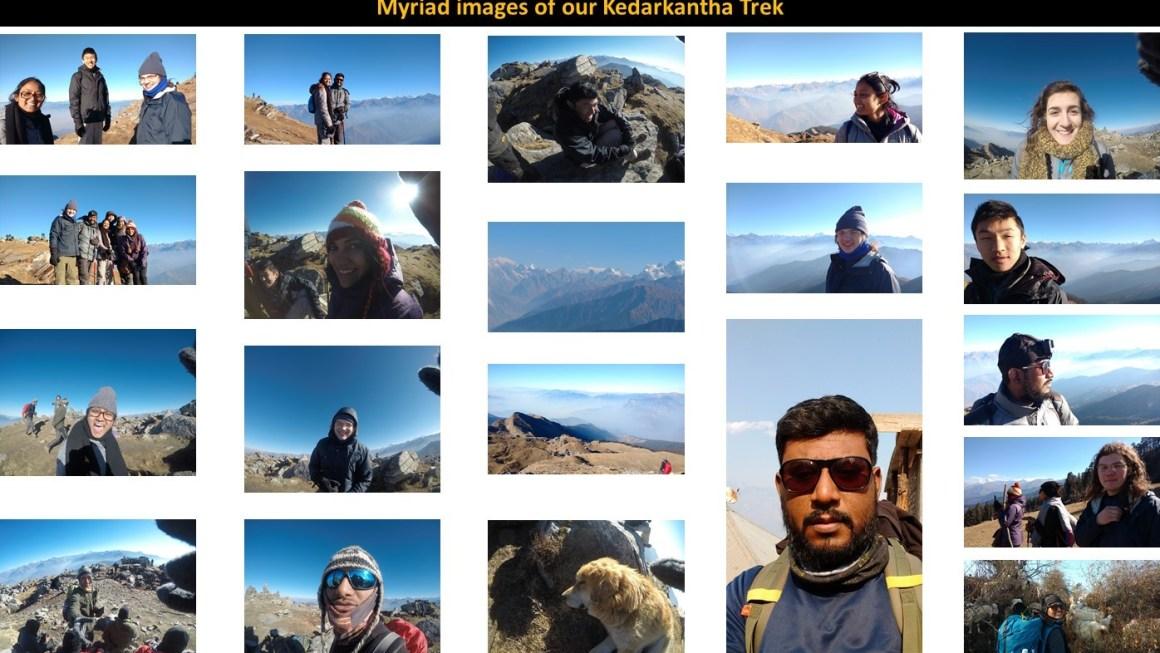 Images from our Kedarkantha Trek
