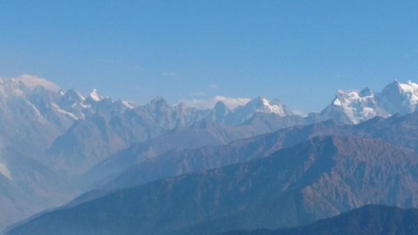 View from KedarKantha Peak