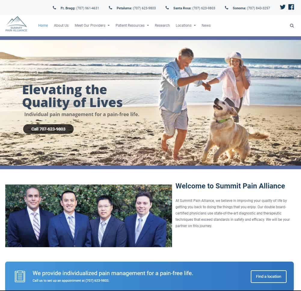 Website design. layout, management