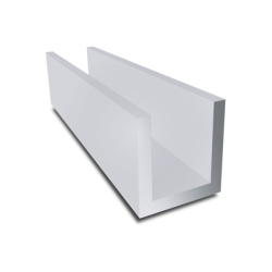 aluminium u profiel