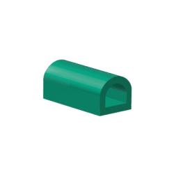 Rubber D-profiel