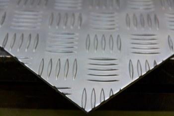 Aluminium traanplaten 5-traans gebeitst, mat
