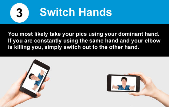 change and switch hands